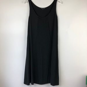 NEW EILEEN FISHER M Stunning Pleated SilkMidiDress